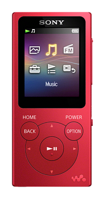 Sony Walkman NW-E394 Red