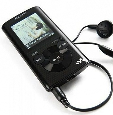 Sony Walkman NWZ-E383 Black